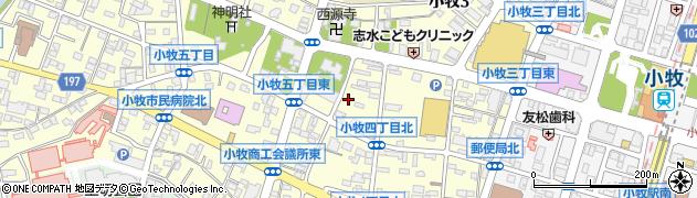 水口亭周辺の地図
