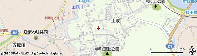 京都府綾部市寺町(寺野)周辺の地図