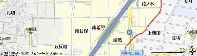 愛知県一宮市千秋町町屋(南若野)周辺の地図