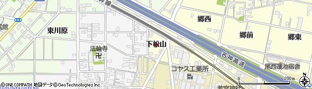 愛知県一宮市蓮池(下松山)周辺の地図
