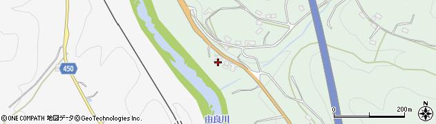 京都府綾部市戸奈瀬町(松原)周辺の地図