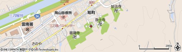 西雲寺周辺の地図
