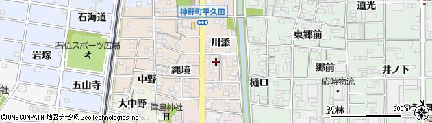 秋桜周辺の地図