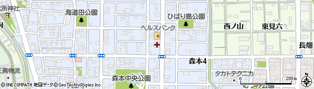 さび庵一宮店周辺の地図