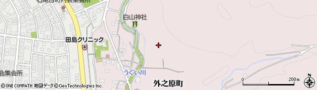 愛知県春日井市外之原町周辺の地図