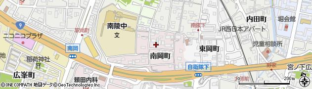京都府福知山市天田(南岡町)周辺の地図
