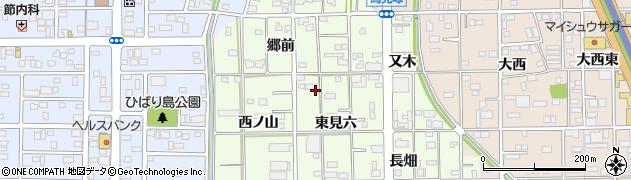 愛知県一宮市馬見塚周辺の地図