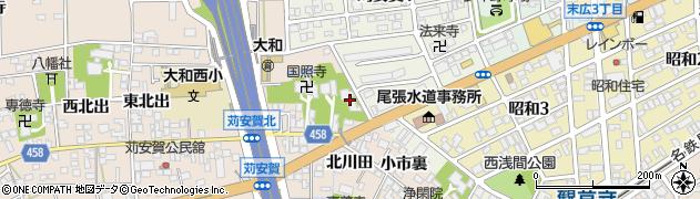 妙栄寺周辺の地図