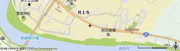 京都府綾部市味方町(雨宮)周辺の地図