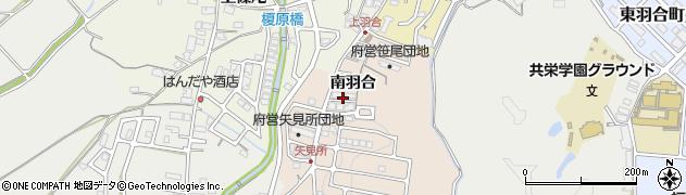 京都府福知山市南羽合周辺の地図
