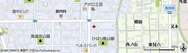 大玄周辺の地図
