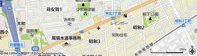 ロリス周辺の地図