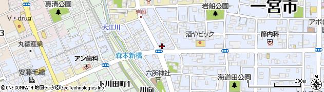 加賀ノ井周辺の地図