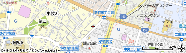 仲よし周辺の地図