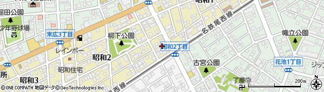 いなほ周辺の地図