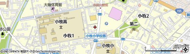 SHIGARAKI居酒屋周辺の地図