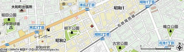 ざくろ周辺の地図