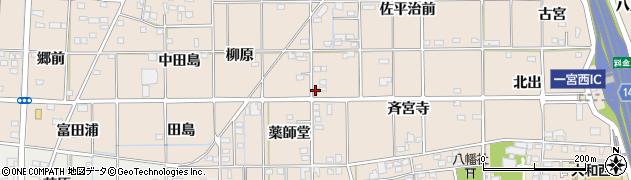 愛知県一宮市大和町苅安賀(薬師堂)周辺の地図