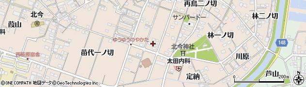 愛知県一宮市北今(再鳥一)周辺の地図