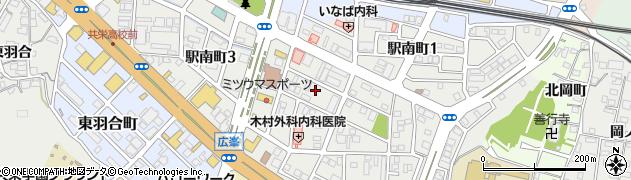 京都府福知山市駅南町周辺の地図