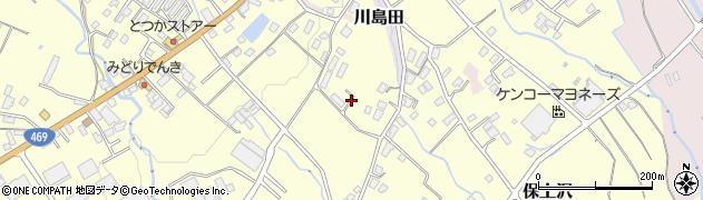 静岡県御殿場市保土沢周辺の地図