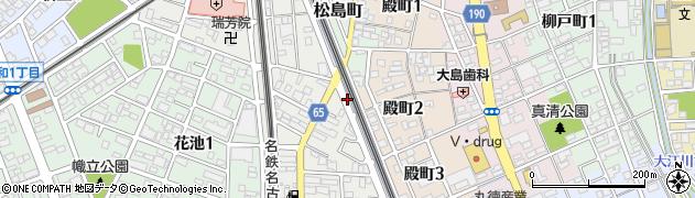 愛知県一宮市一宮(上仲畑)周辺の地図