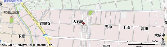 愛知県一宮市千秋町浅野羽根(大石亀)周辺の地図