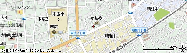 TAKEDA周辺の地図