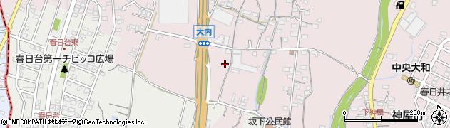 バイキング江戸一春日井神屋店周辺の地図