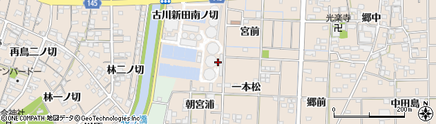 愛知県一宮市萩原町花井方(梧广辻)周辺の地図