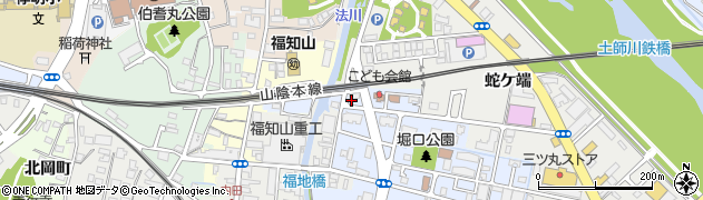 京都府福知山市岡ノ三町周辺の地図