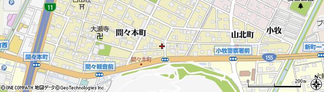 プリエール周辺の地図