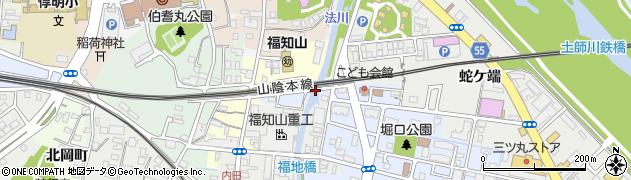 欄干橋周辺の地図