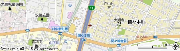 屋台横丁ちろりん村周辺の地図