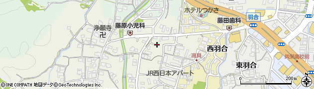京都府福知山市上篠尾周辺の地図
