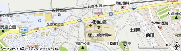 京都府福知山市土師町周辺の地図