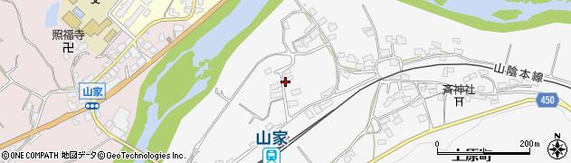 京都府綾部市上原町(定重)周辺の地図
