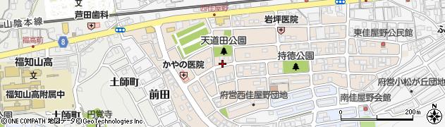 京都府福知山市前田新町周辺の地図