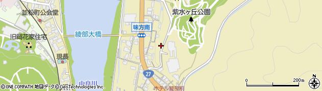 京都府綾部市味方町(倉谷)周辺の地図