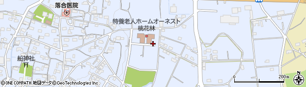 愛知県小牧市上末周辺の地図