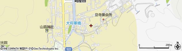 京都府綾部市上延町(旦寺)周辺の地図