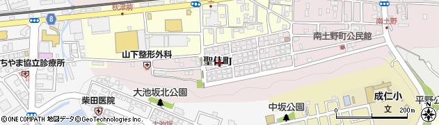 京都府福知山市聖佳町周辺の地図