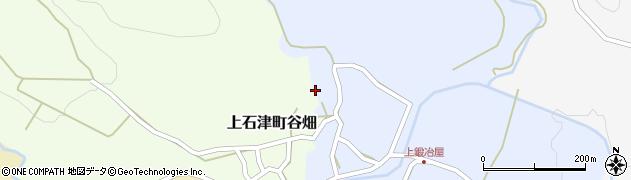 伝香寺周辺の地図