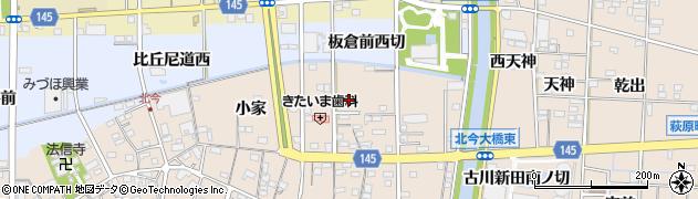 愛知県一宮市北今(林四ノ切)周辺の地図