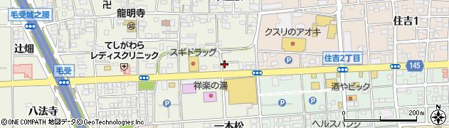 一宮一本松食堂周辺の地図