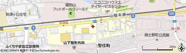 京都府福知山市東野町周辺の地図