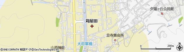京都府綾部市上延町(苅屋田)周辺の地図