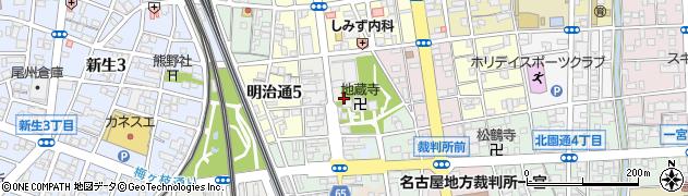 愛知県一宮市本町通周辺の地図