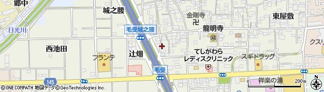 愛知県一宮市大和町毛受(辻畑)周辺の地図
