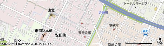 宝マンション周辺の地図